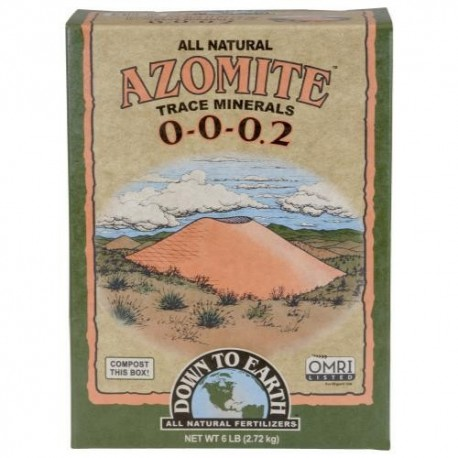 Down To Earth™ Azomite™ SR Powder 0 - 0 - 0.2 6lb(slow release)