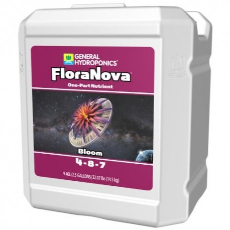 General Hydroponics® FloraNova Bloom® 4 - 8 - 7 2.5 Gal