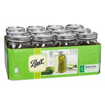 Ball Jar Wide Mouth Pint &...