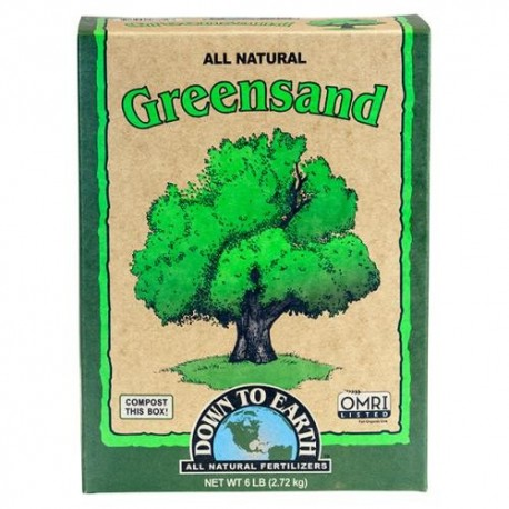 Down To Earth Greensand 6lb