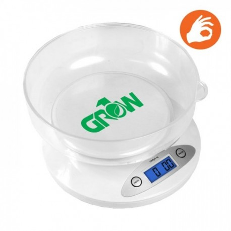 Gro1 Digital Scale 25lb w/ bowl